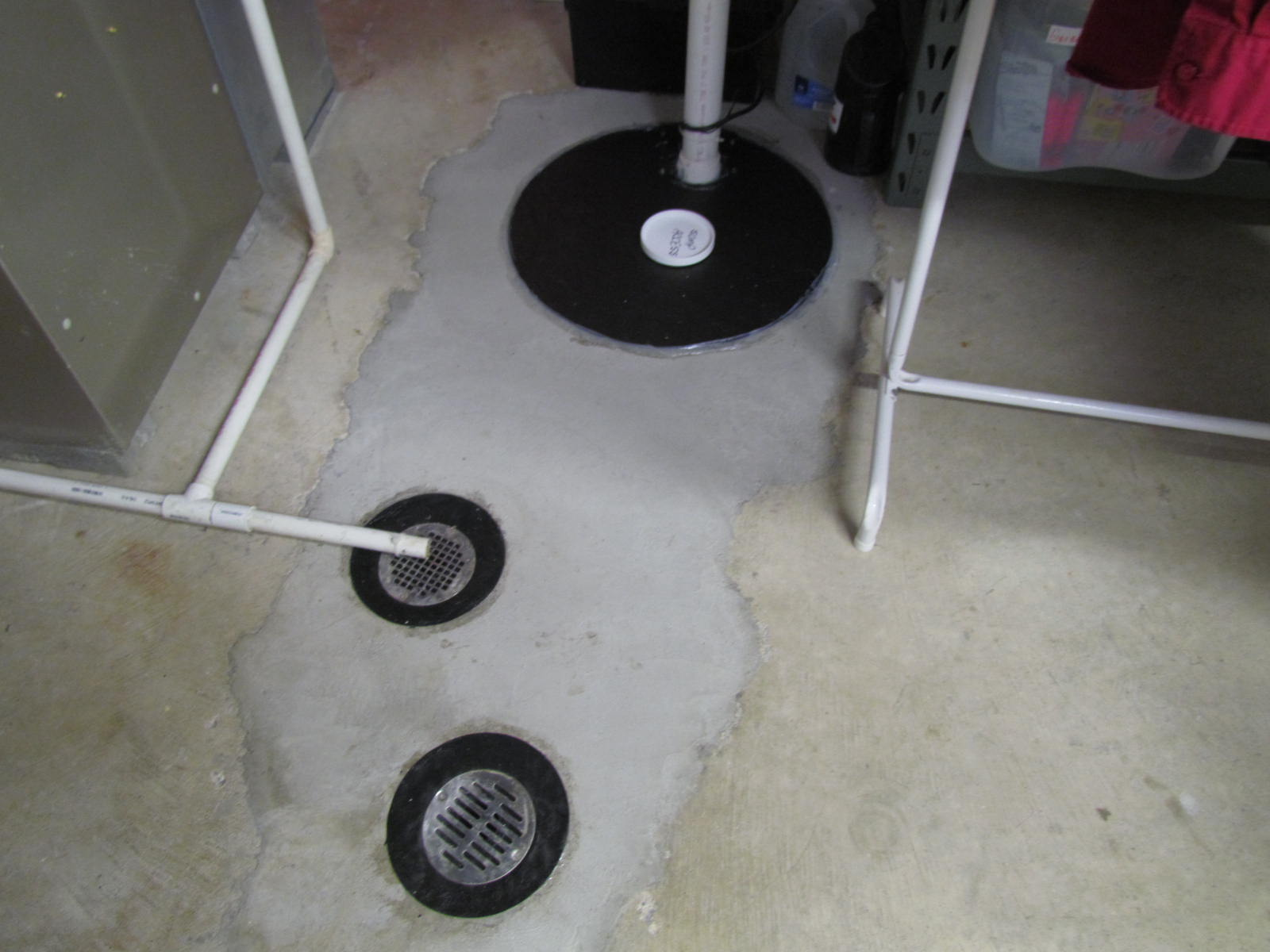 Radon specialties co inc covers sumps crawlspace and others floor drain covers for active radon system dailygadgetfo Image collections